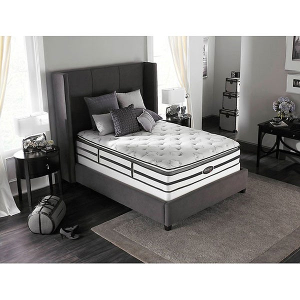 Beautyrest Classic Meyers Plush Pillow-top California King-size Mattress Set