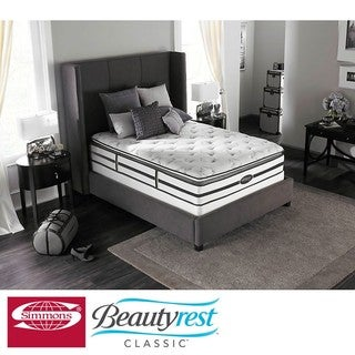 Beautyrest Classic Meyers Plush Pillow-top Queen-size Mattress Set