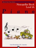 Piano Notespeller Book Level 1A (Paperback)