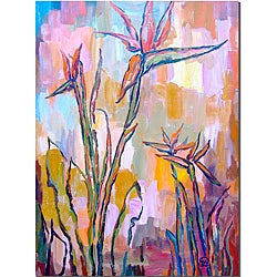 Wendra 'Birds in Paradise' Canvas Art