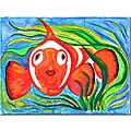 Wendra 'Clown Fish' Canvas Art