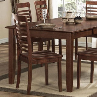 Moulins Asian Wood Dark Brown Dining Ch