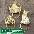 SPEC Pin GoldPind Cat Glasses Holder (Set of 3)