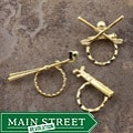 SPEC Pin Golf Theme Glasses Holders (Set of 3)