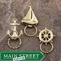 SPEC Pin Goldplated Sailboat Glasses Holder (Set of 3)