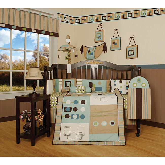 Artist 13-piece Crib Bedding Set