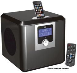 Pyle 300 Watts High-Performance iPod/ iPhone System With Clock Radio