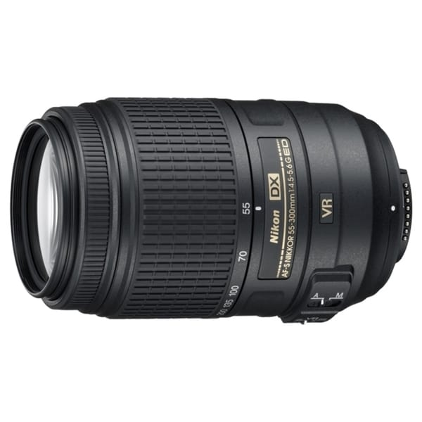 Nikon 2197 55 mm - 300 mm f/4.5 - 5.6 Telephoto Zoom Lens for Nikon F