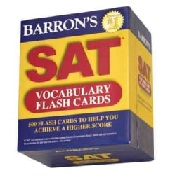 Barron's SAT Vocabulary (Cards)
