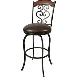 Jersey Meadow 30-inch Autumn Rust Bar Stool