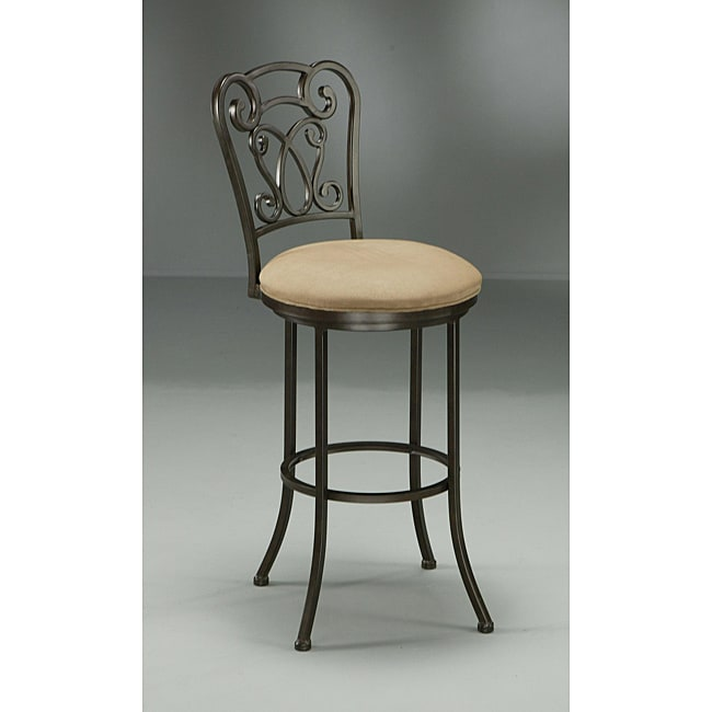 Vienna 30-inch Brown Bar Stool