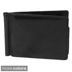 Italian Leather Money Clip