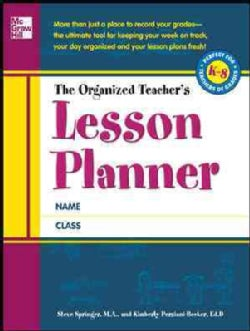 The Organized Teacher's Lesson Planner (Paperback)