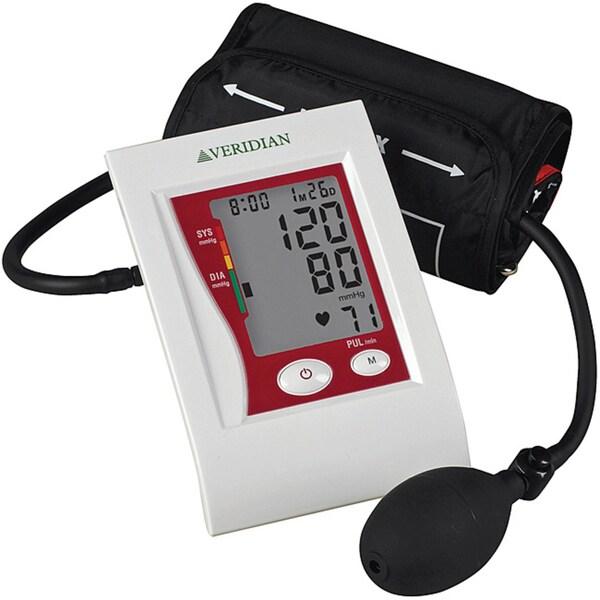 Veridian Semi-automatic Digital Blood Pressure Large Arm Monitor
