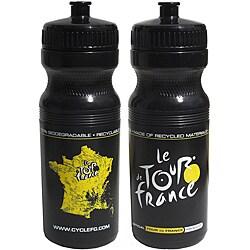 Tour De France Tour De Jour Series 24-oz Black Cycling Bottle
