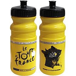 Tour De France Tour De Jour Series 20-oz Yellow Cycling Bottle