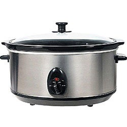 Brentwood Appliances SC-150S 6.5-quart Stainless Slow Cooker