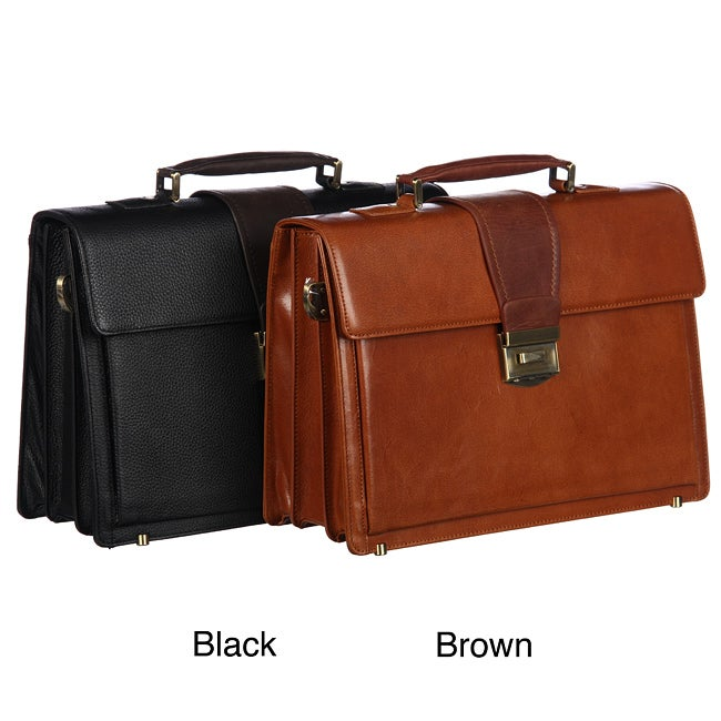 Amerileather Charisma Leather Briefcase