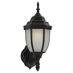 Windgate 1-light Fluorescent Heirloom Bronze Curved Outdoor Wall Lantern