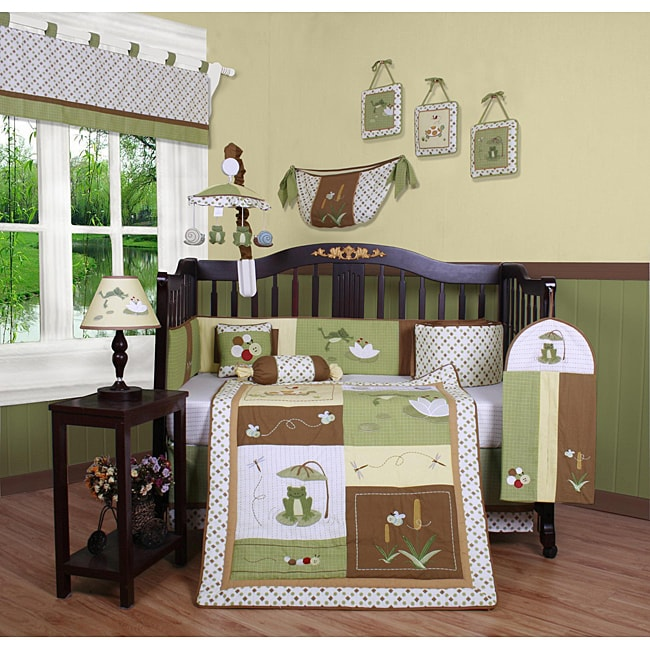 Leap Froggy 13-piece Crib Bedding Set