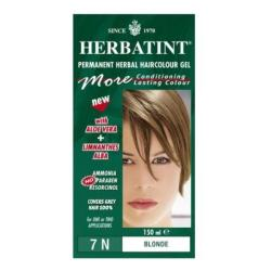 Herbatint 7N Blonde Permanent Herbal 4.56-ounce Haircolor Gel (Pack of 3)