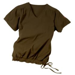 IguanaMed Women's Machine-Washable V-Neck Two-Pocket Uniform Top