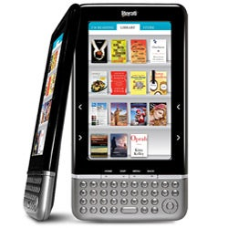 The Sharper Image Literati Wireless Reader (Black)