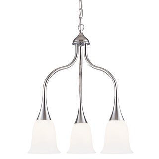 Indoor 3-light Polished Chrome Chandelier
