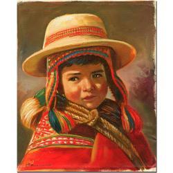 Jimenez 'Nino Andino' Canvas Art