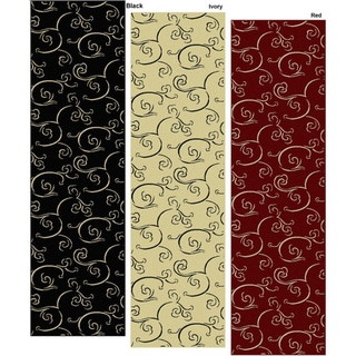 Impressions Modern Multi-color Area Runner (2'2 x 7'7)