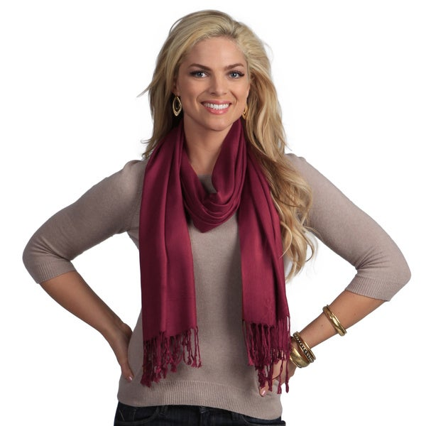 Peach Couture Maroon Full-size Wrap