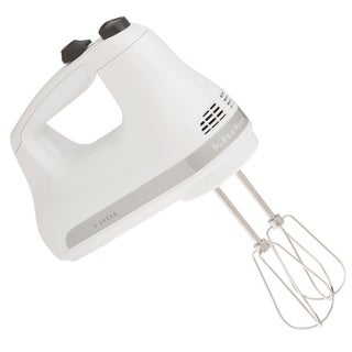 KitchenAid RRKHM3WH White 3-speed Ultra Power Hand Mixer (Refurbished)