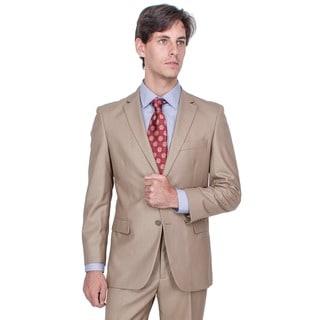 Men's Camel 2-button Suit