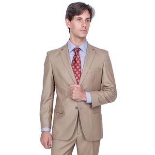 Men's Camel 2-button Suit