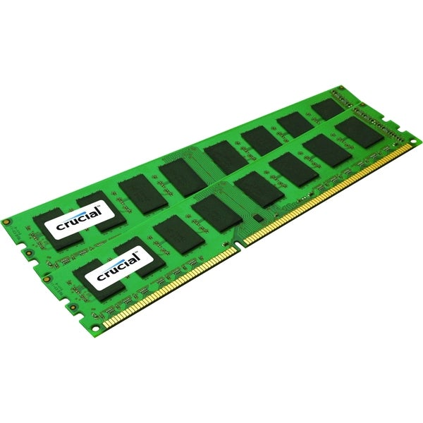 Crucial 8GB Kit (4GBx2), 240-pin DIMM, DDR3 PC3-10600 Memory Module