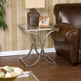 Upton Home Parker Chrome End Table