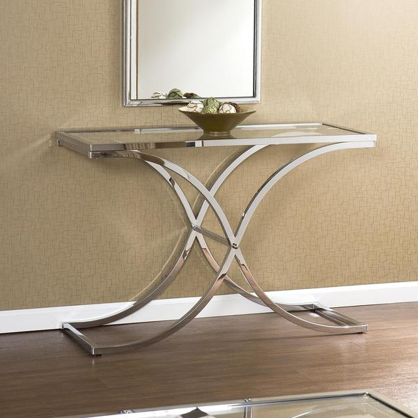 Parker Chrome Sofa Table