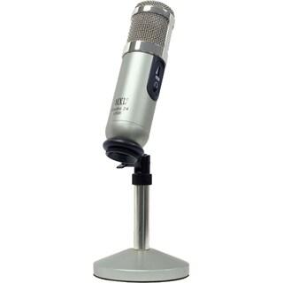 MXL MXLSTUDIO24USB Studio 24 24-bit USB Microphone with User Interface Program Silver/Nickel