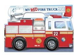 My Red Fire Truck (Board book)