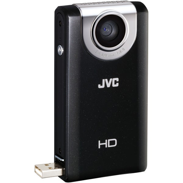 JVC Picsio GC-FM-2 Black Pocket Digital Camcorder