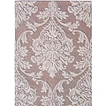Alliyah Handmade Beige New Zealand Blend Wool Rug (8' x 10')