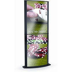 Testrite Eclipse Double Tier Sign Holder