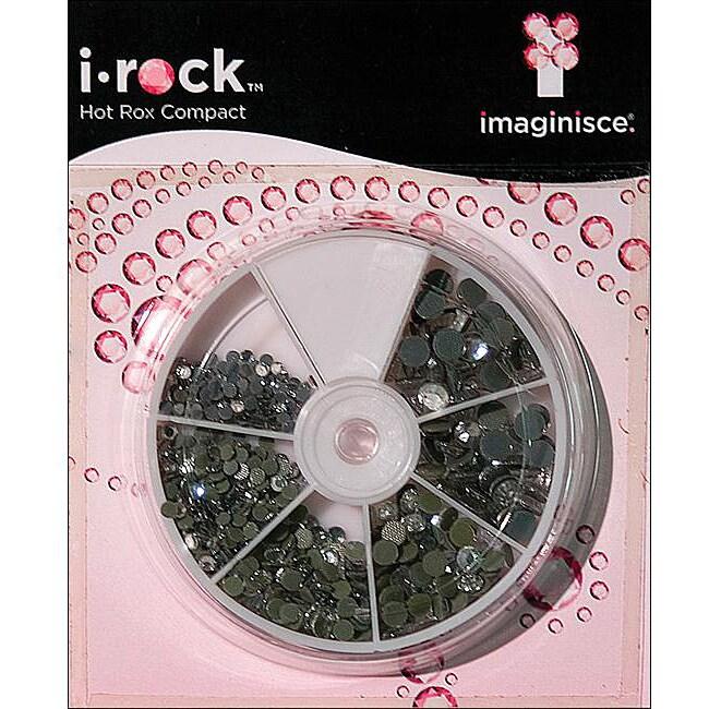 Imaginisce i-rock Hot Rox Adhesive Gem Compact 800-pc Pack