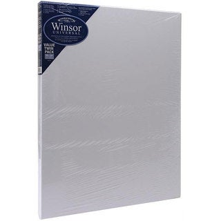 Winsor & Newton 18x24-in Stretched Canvases (Pack of 2)