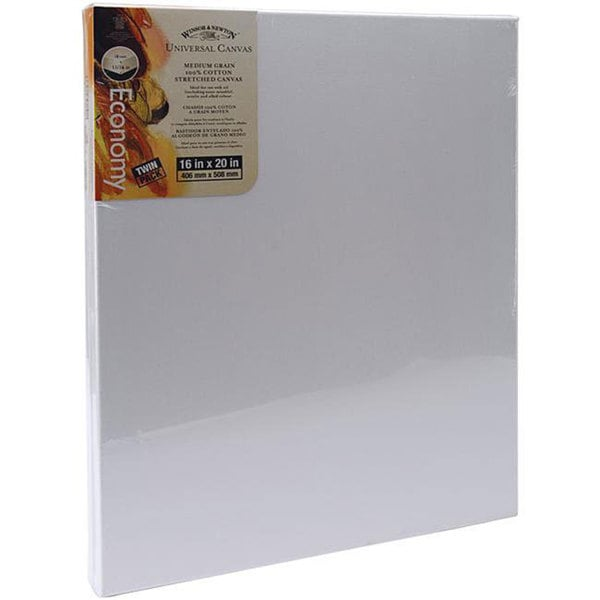 Winsor & Newton 16x20-in Stretched Canvases (Pack of 2)