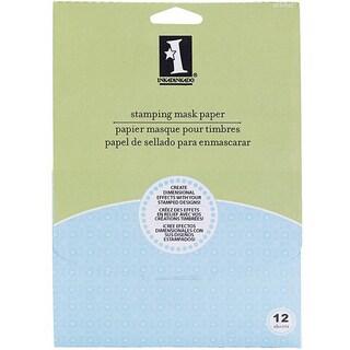 Inkadinkado 12-piece Stamping Mask Paper