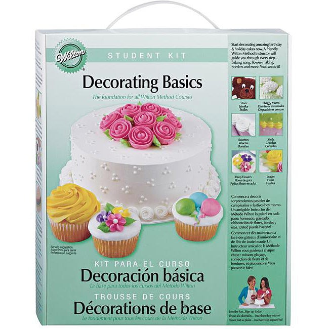 Basic Cake Decorating Kit Wilton : Wilton Basic Decorating Student Kit - Overstock? Shopping ...