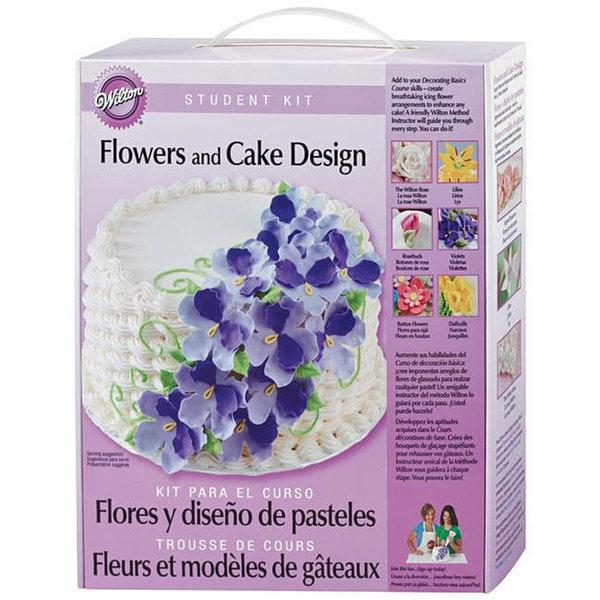 Wilton Flowers and Cake Design Student Kit