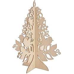 3-D Wood Flourishes Medium Stand-Up Tree