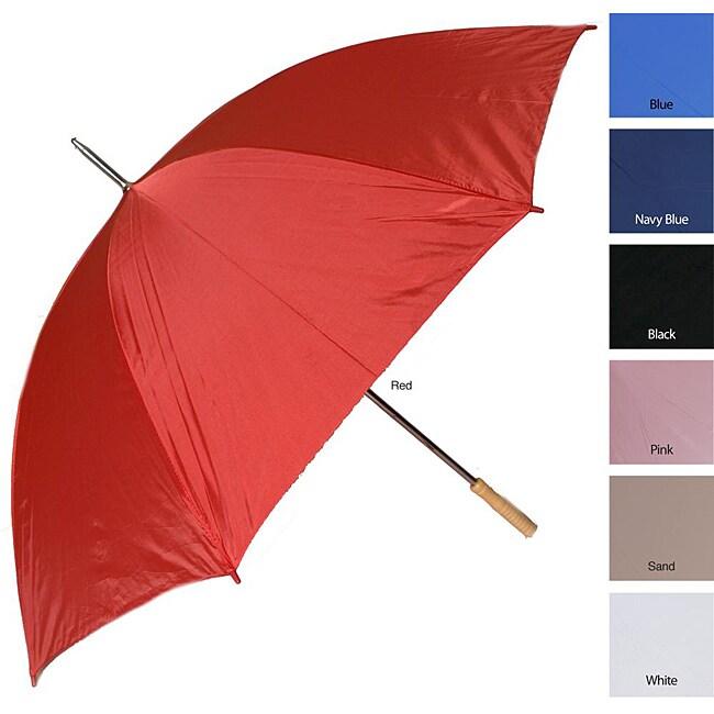 RainWorthy 60-inch Wind-proof Solid Color Umbrellas (Case of 24)